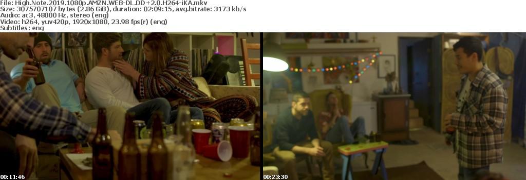 High Note (2019) 1080p AMZN WEB-DL DD+2.0 H264-iKA