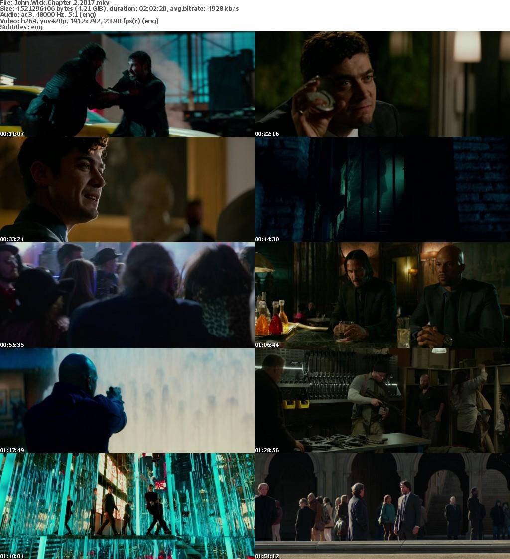 John Wick Chapter 2 (2017) 1080p BRRip x264-Obey