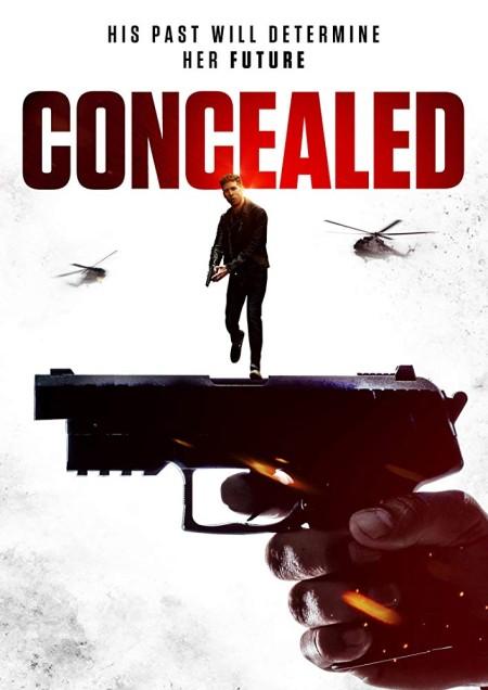 Concealed (2017) HDRip XViD-ETRG