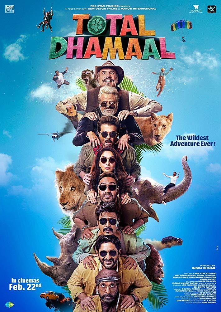 Total Dhamaal 2019 Hindi PreDVDrip x264 AC3 [Team DRSD]