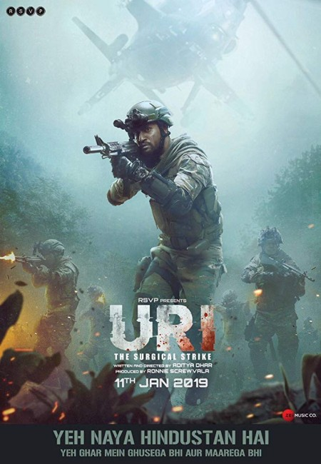 URI The Surgical Strike (2019) Hindi 720p WEB-HD x264 AC3-Sun George