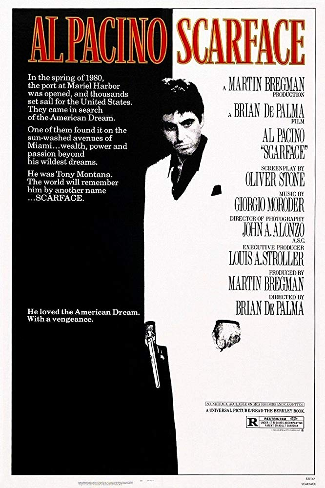 Scarface 1983 1080p BluRay 10bit HEVC 6CH MkvCage