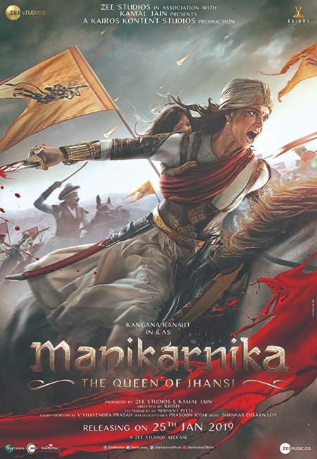Manikarnika The Queen of Jhansi (2019) Hindi 720p HDRip x264 AAC 5 1 ESubs -UnknownStAr Telly