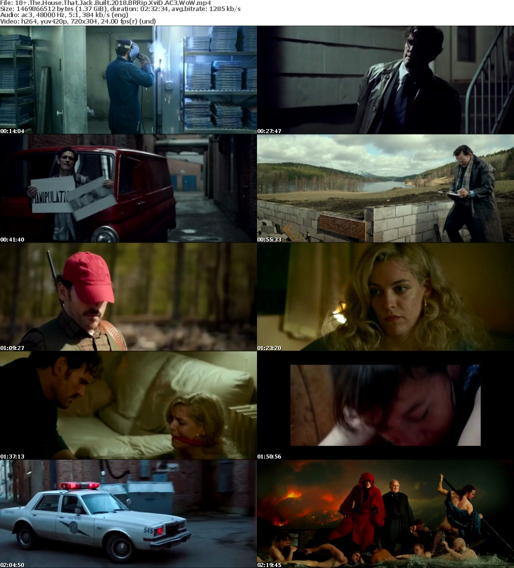 The House That Jack Built (2018) BRRip XviD AC3 WoW