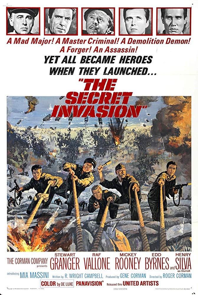 The Secret Invasion 1964 BRRip XviD MP3-XVID