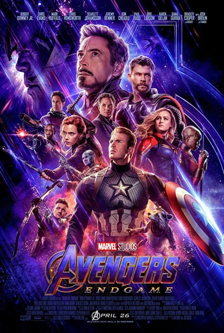 Avengers: Endgame (2019) New HQ HDCAM-Rip - 720p - x264 - HQ Hindi (Cleaned) x264 AAC 1 4GB