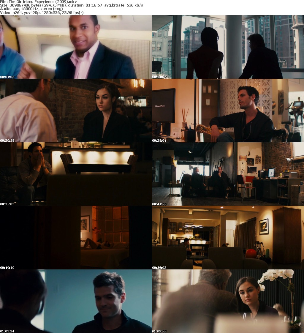 The Girlfriend Experience (2009) 720p BRRip x264 Jassy