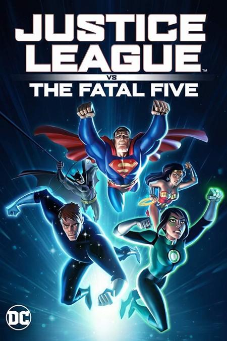 Justice League vs the Fatal Five (2019) (1080p BluRay x265 HEVC 10bit AAC 5 1 YOGI) QxR
