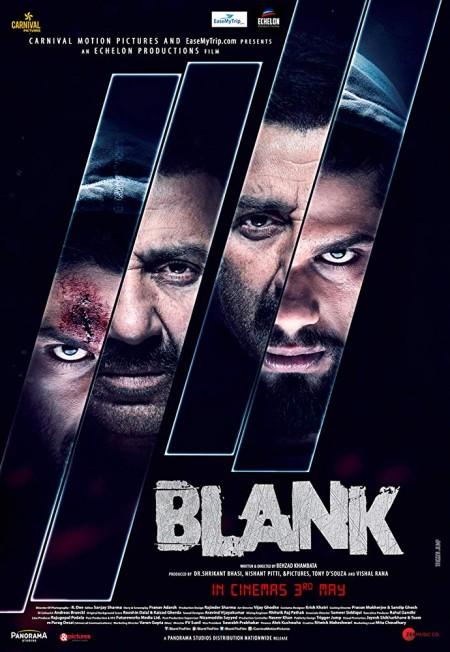 Blank 2019 720p PreDVD Rip 1GB Hindi Movie x264 CineVood Exclusive