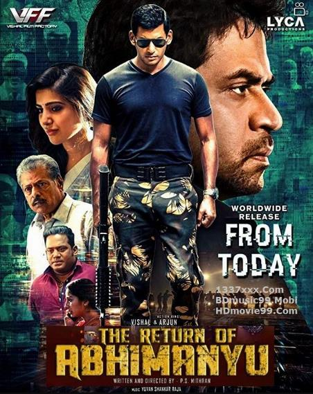 The Return of Abhimanyu Irumbu Thirai (2019) 720p Hindi ORG HDRip X264-AAC-1.2GB-MOVCR