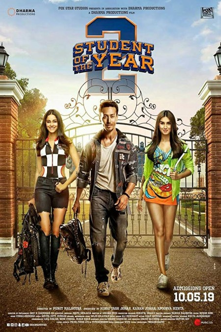 Student of the Year 2 2019 480p PreDVD Rip 700MB x264 CineVood Exclusive mp4