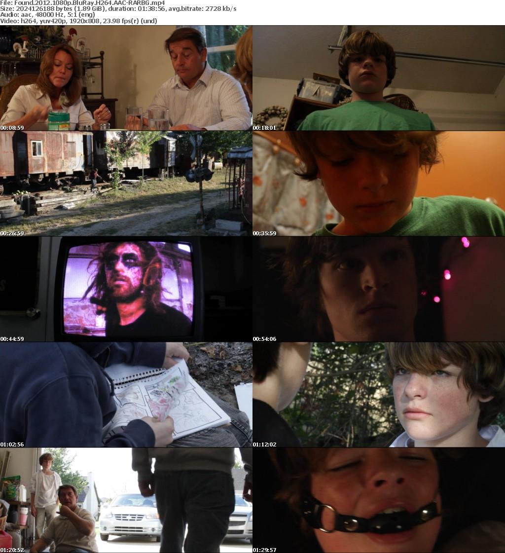 Found (2012) 1080p BluRay H264 AAC-RARBG