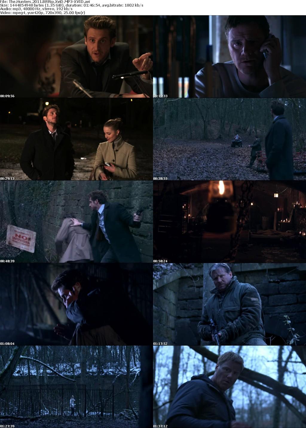 The Hunters (2011) BRRip XviD MP3-XVID