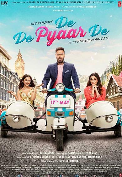 De De Pyaar De (2019) Hindi 720p Pre-CAMRip x264-DLW