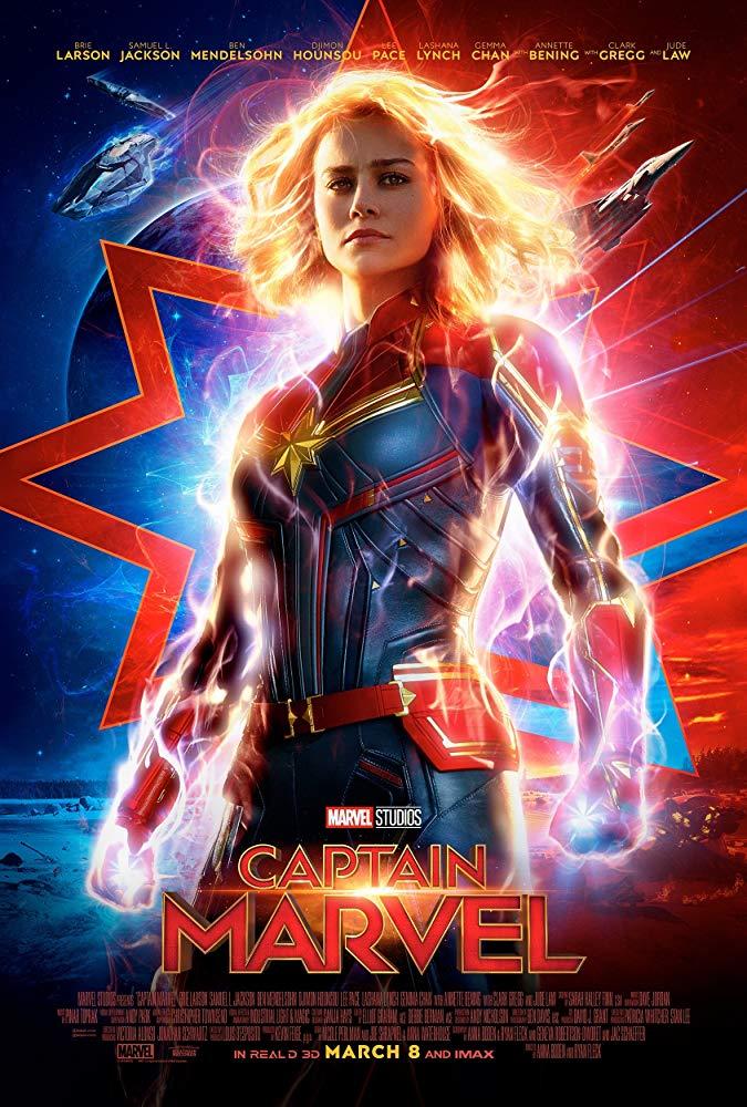 Captain Marvel 2019 720p HDRip Tamil Telugu Hindi Eng x264 1GB ESubs[MB]