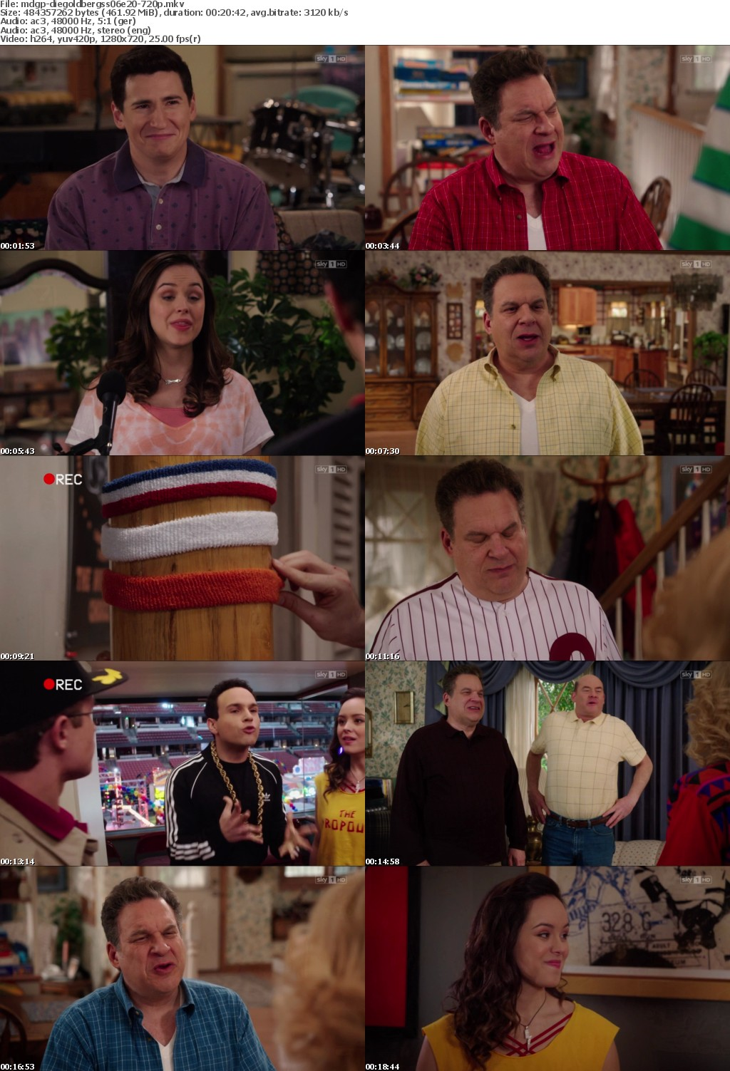 Die Goldbergs S06E20 This is This is Spinal Tap GERMAN DL 720p HDTV x264-MDGP