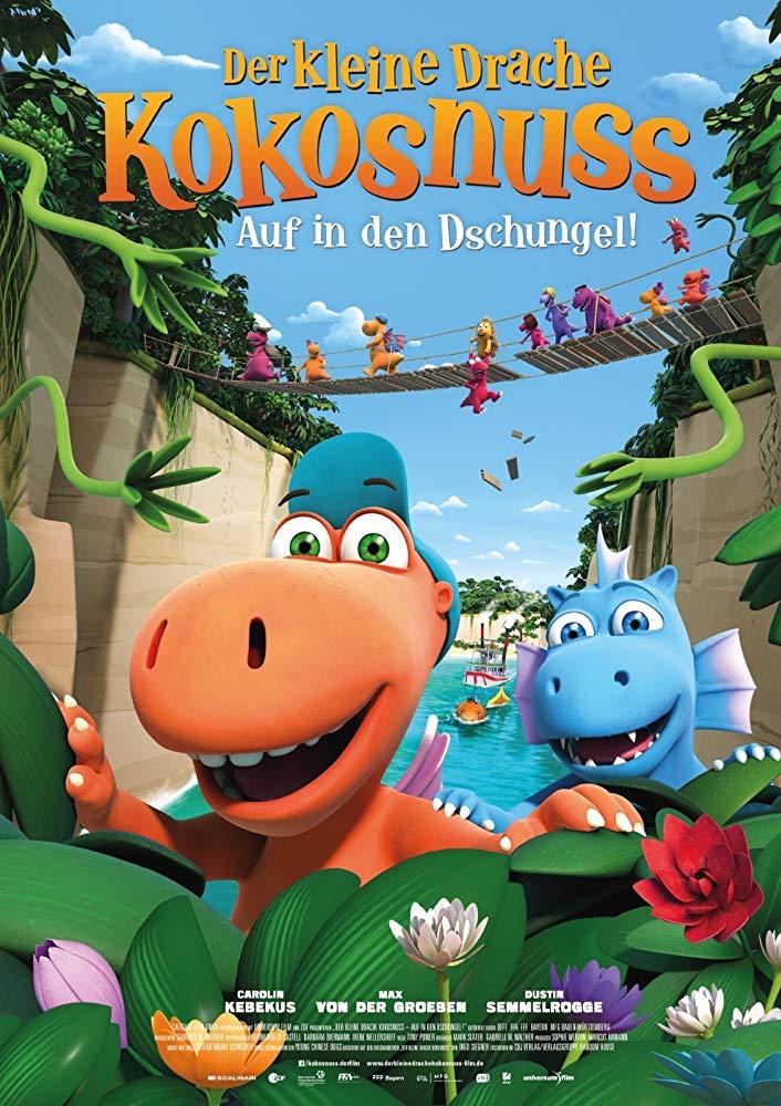Coconut the Little Dragon 2 Into the Jungle 2018 DUBBED 720p BluRay H264 AAC-RARBG