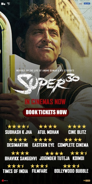 Super 30 (2019) PreDVD Rip x264 350MB AAC CineVood Exclusive