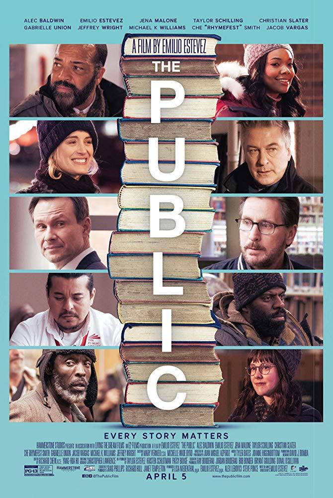 The Public 2018 DVDR-JFKDVD
