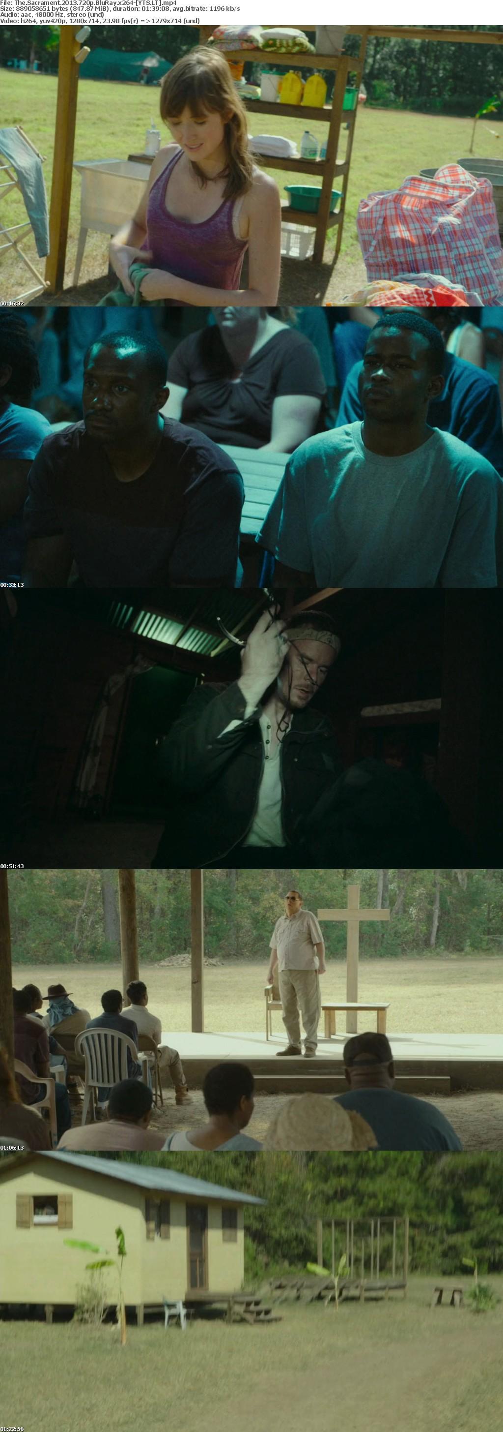 The Sacrament 2013 [BluRay] [720p] YIFY
