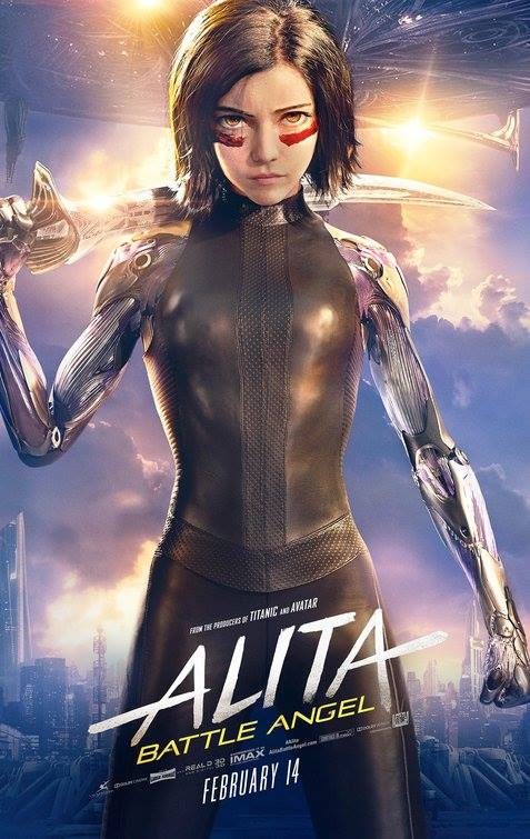 Alita-Battle Angel 2019 (1080p WEBRip x265 HEVC 10bit AAC 5 1 Joy) [UTR]