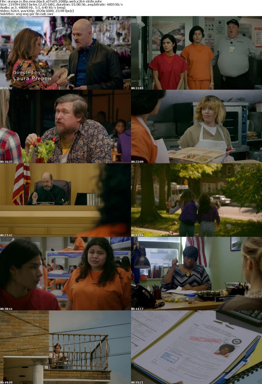 Orange Is the New Black S07 1080p WEB x264-STRiFE