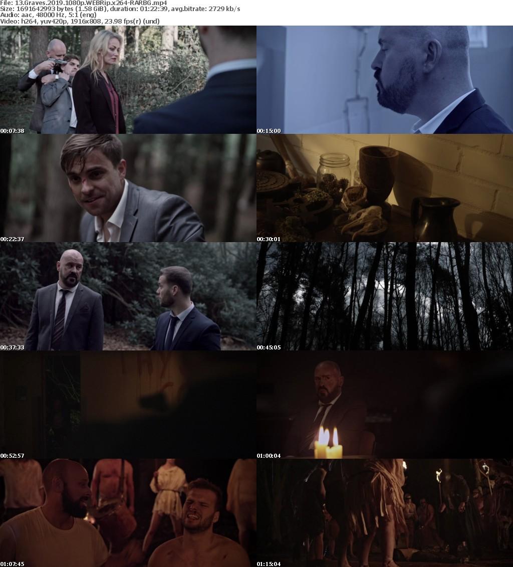 13 Graves (2019) 1080p WEBRip x264 RARBG