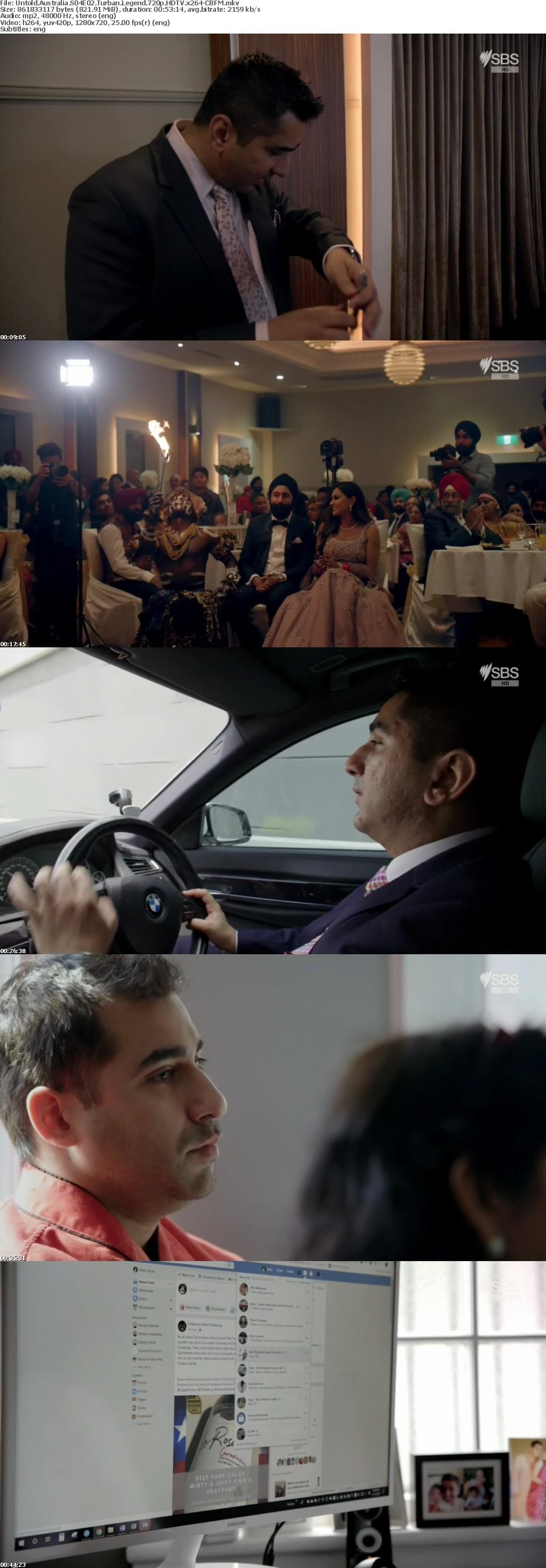 Untold Australia S04E02 Turban Legend 720p HDTV x264-CBFM