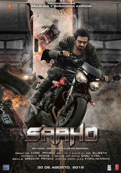 Saaho (2019) Hindi 720p PreCAM Rip x264 AAC 1.2GB  CineVood Exclusive