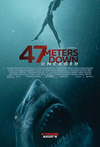 47 Meters Down Uncaged (2019) 720P HDCAM Hindi Dub 1XBET x264-KaMHD