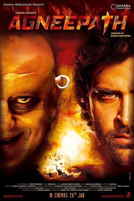 Agneepath (2012) Bluray 1080p 10bit HEVC Hindi DD 5 1 AC3 H265 ESubs ~RONIN~