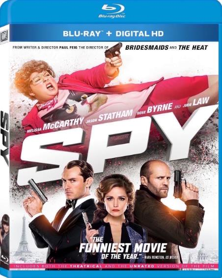 Spy (2015) UNRATED 720p BluRay x264 Dual Audio Hindi Eng-DLW