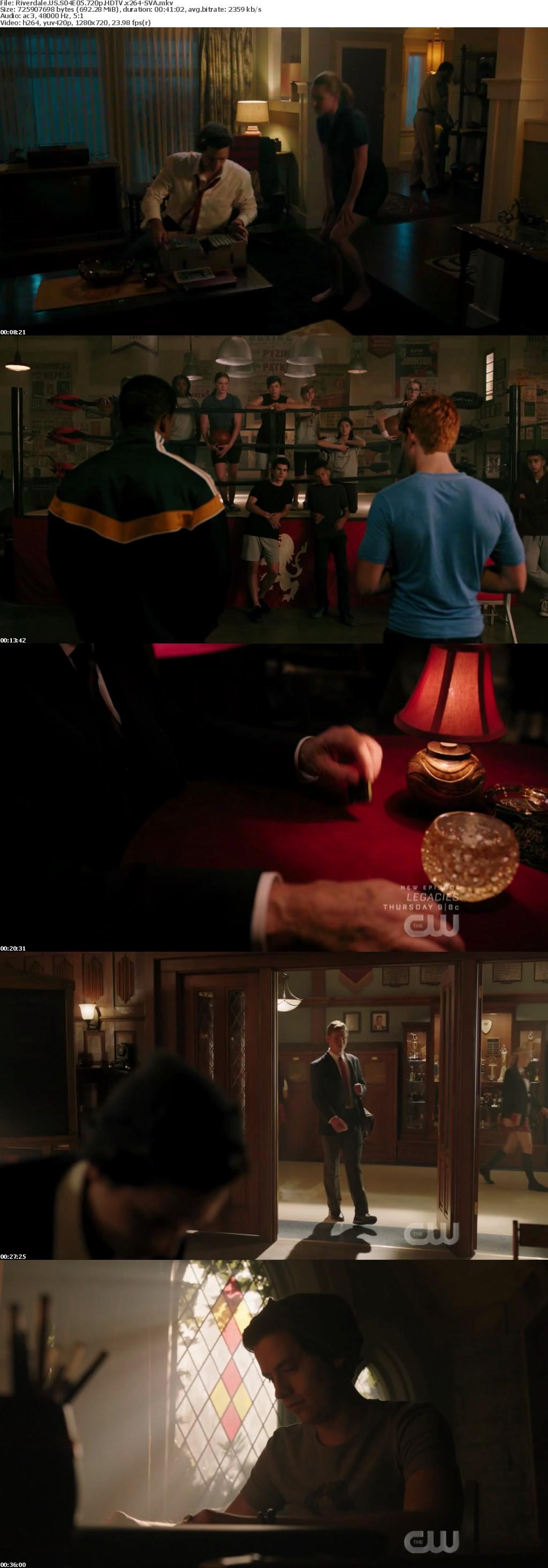 Riverdale US S04E05 720p HDTV x264-SVA