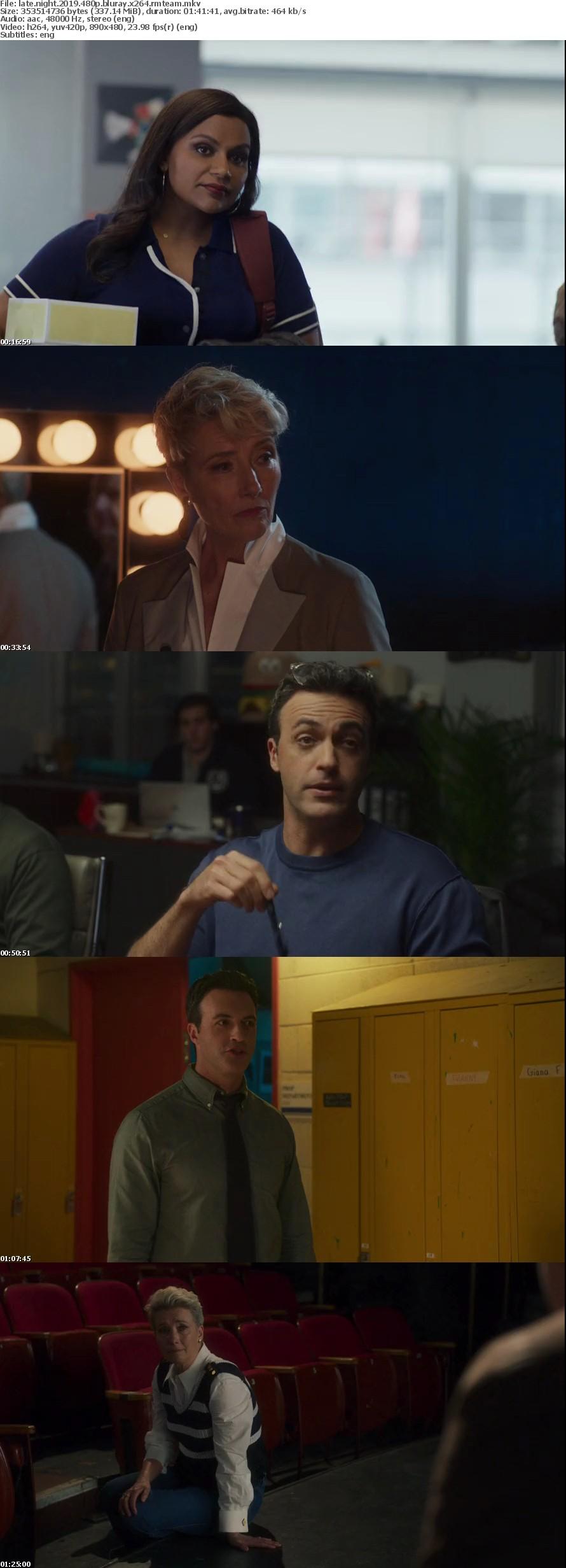 Late Night 2019 480p BluRay X264-RMTeam