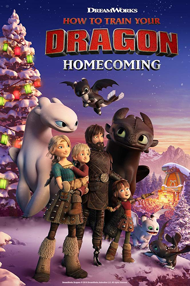 How To Train Your Dragon Homecoming 2019 1080p WEB-DL H264 AC3-EVO