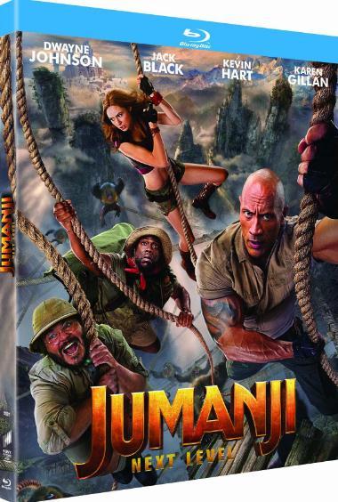 Jumanji The Next Level (2019) 720p HD CAMRip x264 AAC English Clean Audio 900MB-MA