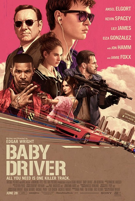 Baby Driver (2017) 720p BluRay Hindi English x264 AAC MSubs - LOKiHD - Telly