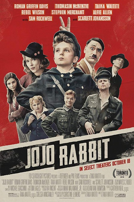 Jojo Rabbit (2019) 720p BluRay x264-NeZu
