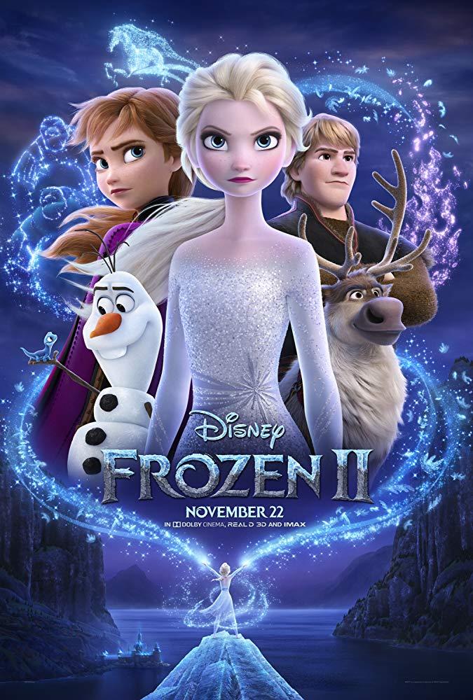 Frozen II 2019 720p WEB-DL XviD AC3-FGT