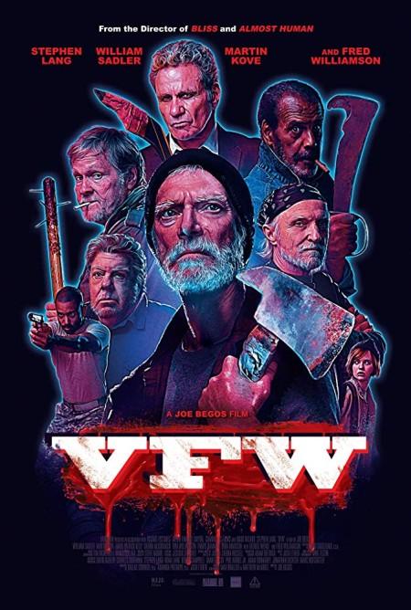 VFW (2019) 720p WEBRip 800MB x264-GalaxyRG
