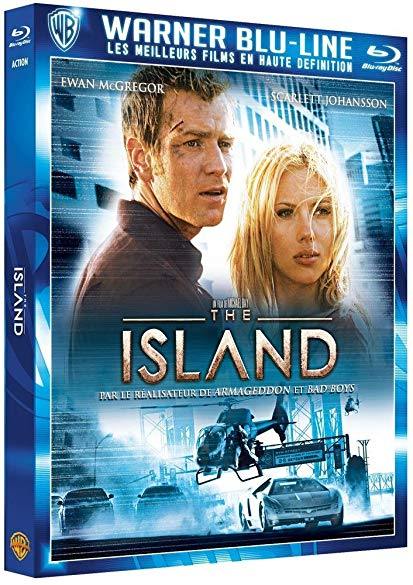 The Island (2005) 720p Bluray x264 Dual audio Hindi DD2.0 English DD2.0 ESubs-MA