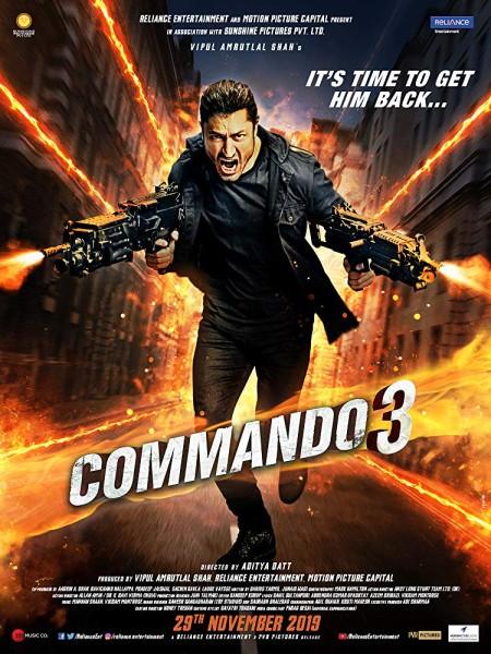 Commando 3 2019 Hindi 1080p WEBRip x264 AAC ESubs - LOKiHD - Telly
