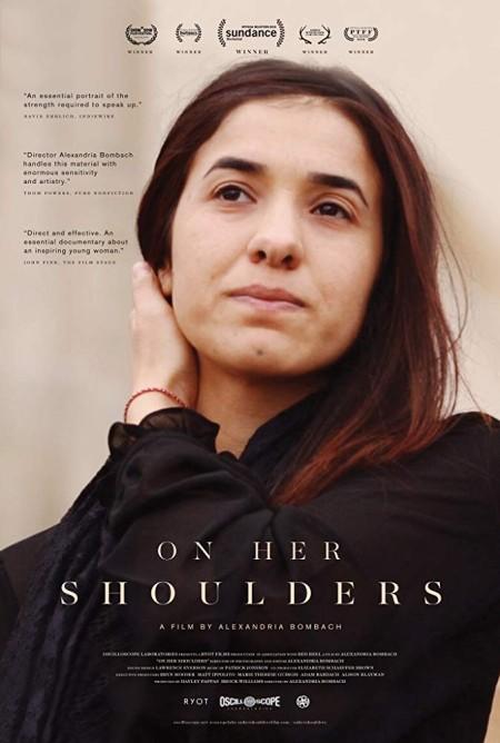 On Her Shoulders (2018) 720p HDTV 800MB x264  GalaxyRG
