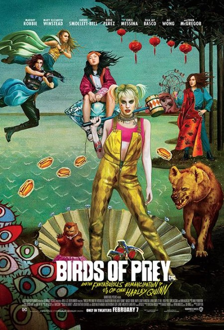 Birds of Prey And the Fantabulous Emancipation of One Harley Quinn 2020 720p WEBRip 800MB x264-GalaxyRG