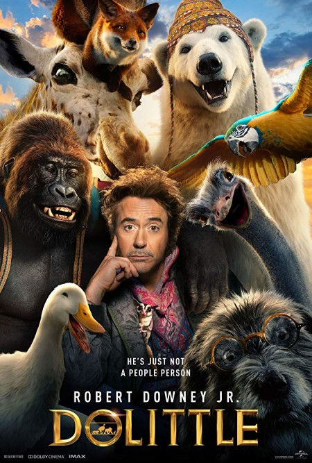 Dolittle 2020 1080p WEB-DL H264 AC3-EVO