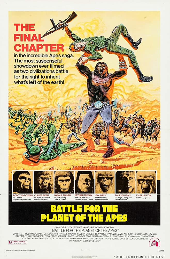 Battle for the Planet of the Apes 1973 1080p BluRay x265-RARBG