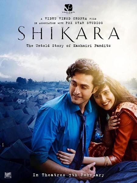 SHIKARA (2020) Hindi 720p HDRip x264 AC3 DD5 1 ESub 1 1GB HDWebMovies