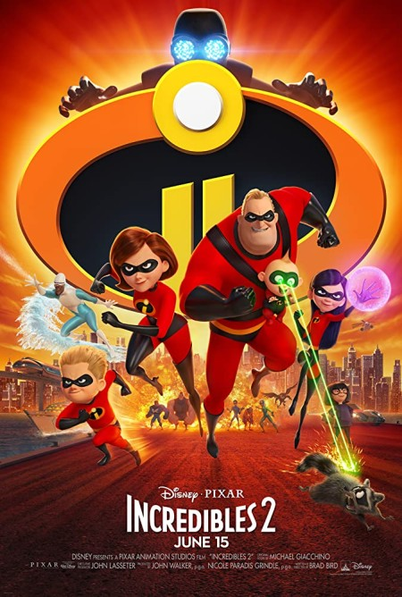 Incredibles 2 (2018) 720p BluRay H264 AAC-MRSK