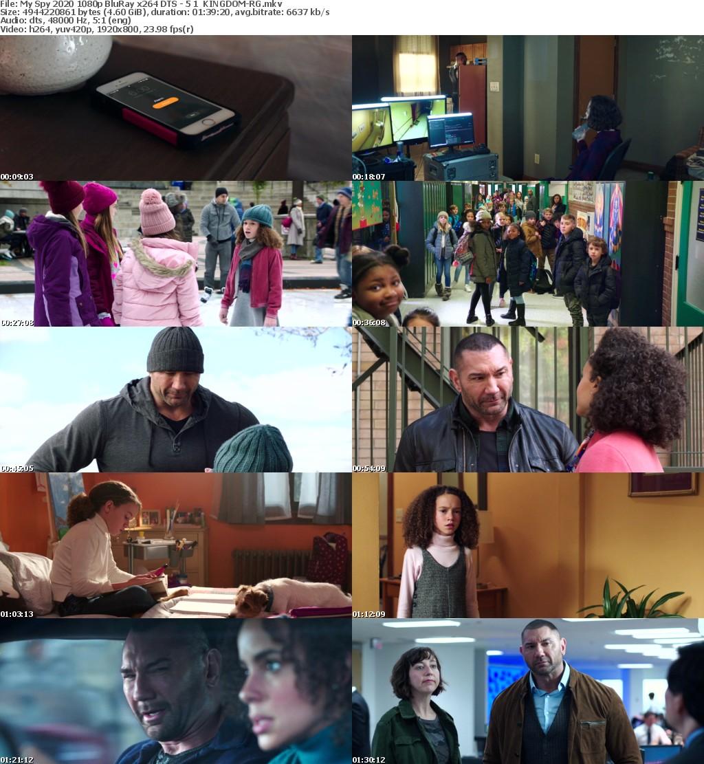 My Spy (2020) 1080p BluRay x264 DTS - 5.1 KINGDOM-RG