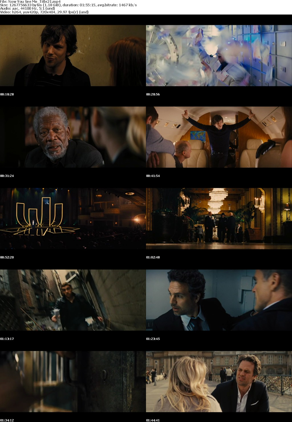 Now You See Me 2 (2016)Mp-4 X264 Dvd-Rip 480p AVCDSD